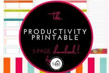 Organization - Printables