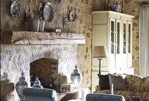 Rustic spaces / Rustic details and rustic interiors.