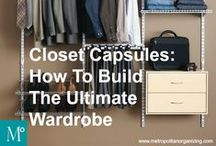 WARDROBE | CLOTHING Organization / Wardrobe + style information: editing, capsules, care+cleaning, size conversions.  Closet decluttering information and help available on metropolitanorganizing.com  or call 919.380.7719  Raleigh | ClosetOrganizing | Closet Organization  | Geralin Thomas | Professional Home Organizing Services, Raleigh | Metropolitan Organizing, LLC / by Geralin Thomas | Become a Professional Organizer