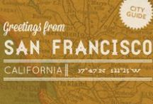 San Francisco / See the great sights of San Francisco! Here we have popular landmarks and tips on what to see while you're here! / by TYPO San Francisco
