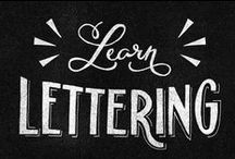 lettering.typography.. / misshapen words.