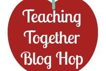 Teaching Together Blog Hop / A monthly educational link up for preschoolers and elementary age children. Find easy crafts and inspiration from homeschooling moms and educators.