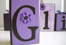 Personalized wood blocks  / I have always enjoyed doing all sorts of crafts especially scrapbooking.  I recently started making these decorative wood blocks, and I love it.  All blocks are custom made to match any room decor. Check out my shop on Etsy- jennaevesblocks.  I would love to create a custom design for you. / by Michelle Bjergo