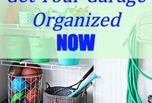 Let's Get Organized! / Don't let clutter take over your home - use these easy tips to organize every room in your home.