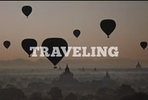 Traveling / Traveling, The road,                                                                              Last known, Is where I want to be.