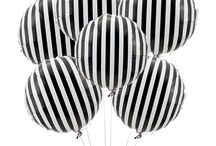 Black and white styling for parties and events