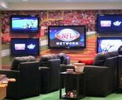 The Ultimate Man Cave / Your man will love any of these ideas - especially if you let him turn your basement into one of these rockin' man caves!