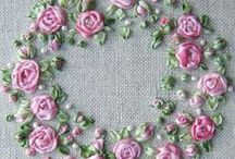 Embroidery, Silk & Crazy Quilt / by Carolyn Kniess