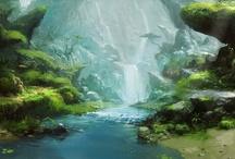 Rivers, Lakes, & Waterfalls