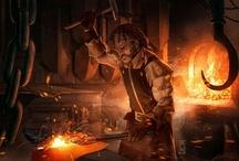 Blacksmith & Other Shops