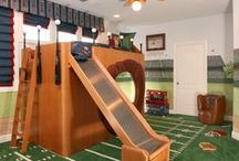 Sports-Themed Rooms / The crowd will go wild for these unique sports-themed rooms!