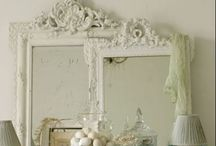 Vintage Mirrors and Frames