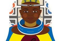 Ndebele traditional dress