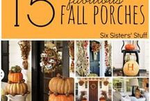 Fall Home Decor Ideas / Fall is one of our favorite times for decorating the home - make sure yours is ready for the season!