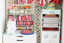 Craft room / by Elizabeth Clavijo