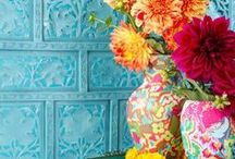 DYT Type 1-Inspired Home / Beautiful, fun, happy color! / by Andrea Haywood at Opulent Cottage