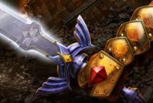 Legend of Zelda: Ocarina of Time Artwork
