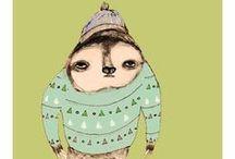 I heart sloth nurseries
