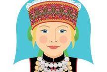 Estonian / Traditional Dress of Estonians