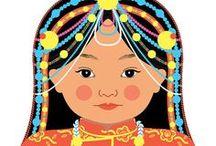 Tibetan Cultural dress