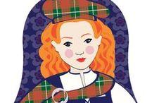 Scotswoman Cultural Dress