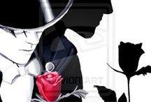 Tuxedo Mask & Mamoru Artwork