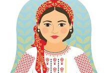 Moldova traditional dress