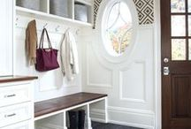 Entries and Hallways / Inspiration and ideas for bright, modern and traditional entry and hallway decorating.
