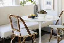 Dining Rooms and Breakfast Nooks / Inspiration and ideas for bright, modern and traditional dining rooms and breakfast nooks.