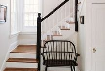 Stairs / Inspiration and ideas for bright, modern and traditional stairs and staircases. Interior inspiration for the space often forgotten!