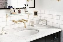 Bathrooms / Inspiration and ideas for bright, modern and traditional bathroom decorating.
