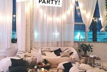 Party / Find bright and modern party ideas here. Lots of visual inspiration to take your party to the next level.