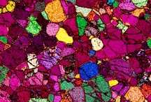 Your Zodiac Birthstone / Astrological birthstones photographed under microscope