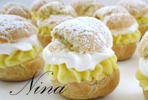 all things cream puffs! / by Lucia Cupcakee