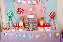 dessert table & birthday party ideas / by Lucia Cupcakee