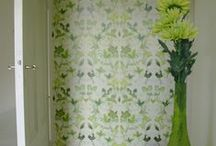 Wallcovering /  wallcoverpatterns designed at www.wingbudwallpaper.com
