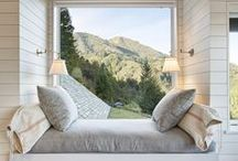 Cozy Places / Inspiration and ideas for bright, modern and traditional cozy spaces in your home.