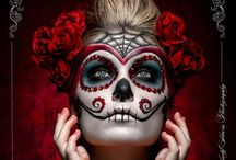 Dia De Los Muertos - Day of the Dead /  All things Day of the Dead - Dia De Los Muertos .....Update: ready to print giclee and prints of my paintings. Yay! / by Tamie Borbon