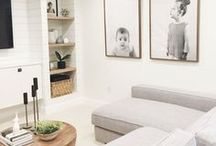 Basements / Inspiration and ideas for bright, modern and traditional interior decorating ideas for your basement spaces.