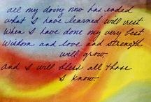 Verses, Songs & Stories / by Cherish Walker
