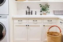 Laundry Rooms / Inspiration and ideas for bright, modern and traditional decor for your laundry room.