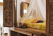 home: bed & canopy / beds & bedrooms / by Faith Adams