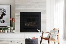 Fireplace / Inspiration and ideas for bright, modern and traditional fireplace designs and spaces.