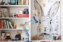 Kid's Rooms / Bright, modern and traditional kids decorating ideas. Inspiration for kid friendly spaces.