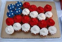 4th of July! Memorial Day! Labor Day! / by Lucia Cupcakee