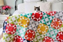 Quilt ideas / Ideas for quilt styling