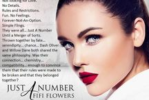 Just A Number / Book Inspiration for Fifi Flowers' Upcoming novel Just A Number / by Fifi Flowers