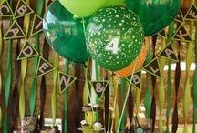 P A R T I E S / PARTY IDEAS FOR KIDS OF ALL AGES  #partyideas #dinnerparties #entertaining / by Matoaka Garner