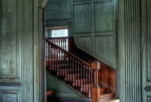 federal rustic design / My style of rustic federal...if an 18th century, wealthy Frenchman fled to the rustic Kentucky frontier in 1799 and then became wealthy again during the federal period. :) / by Kelly Smith