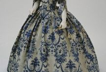 { Inspired - 1840 to 1869 } / How can you go wrong with a big skirt and tiny waist...